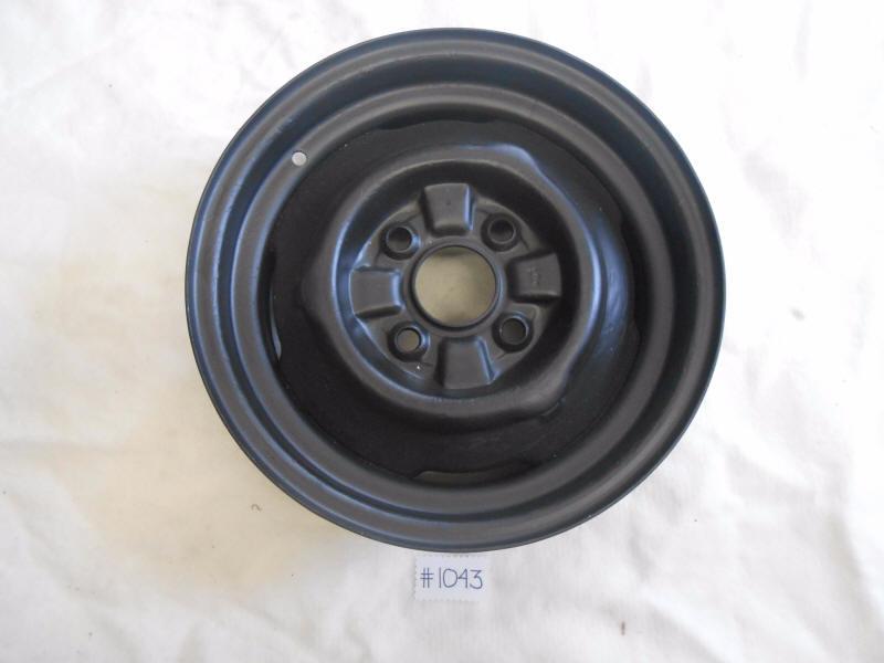 Used Steel Wheels : Mustang quot lug cylinder steel wheel used ebay